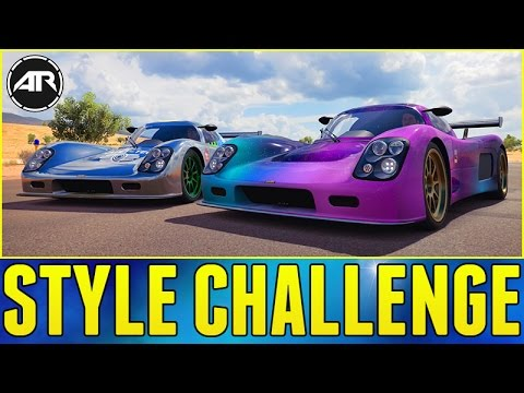 Forza Horizon 3 Online : STYLE CHALLENGE!!!