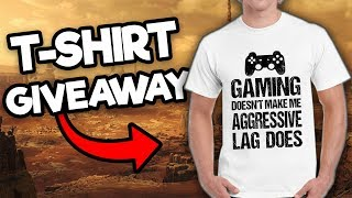 Funny Gaming T-Shirt GIVEAWAY (Multiple available!) #SilkieApparel