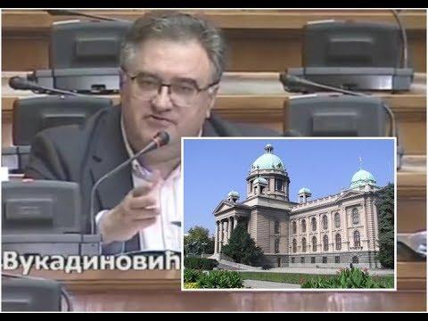 U Skupštini bruka: Vukadinovića vređao poslanik SNS zbog nacionalnog stadiona