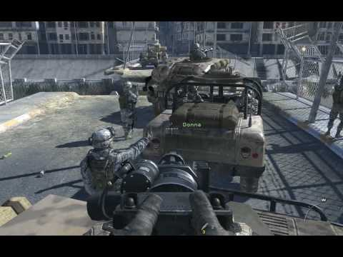Modern Warfare 2, full walkthrough (Veteran difficulty), Mission 2 - Team Player, Part 1/2
