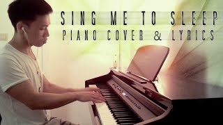 Alan Walker - Sing Me To Sleep (piano cover by Ducci & lyrics)