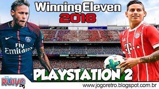 World Soccer Winning Eleven 2018 no Playstation 2