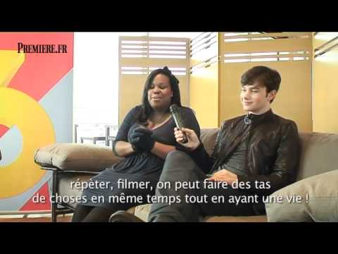 Glee's Chris Colfer and Amber Riley interview
