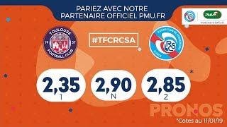 Toulouse FC-Racing (J20 Ligue 1 18/19) les clés du match avec PMU.fr