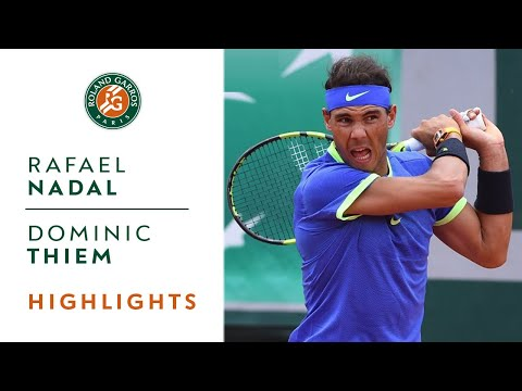 Rafael Nadal v Dominic Thiem Highlights - Men's Semi-Final 2017 | Roland-Garros