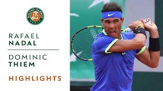 Rafael Nadal v Dominic Thiem Highlights - Men