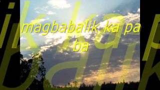 Pangako w/ lyrics