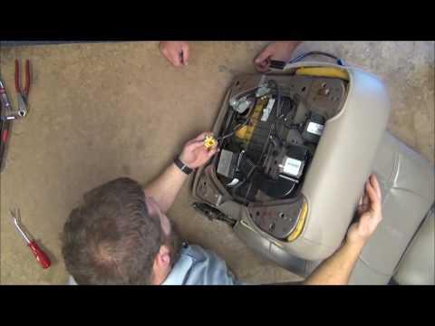 2000 - 2002 Lincoln Navigator Driver Bottom Leather Install
