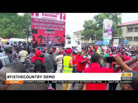 #FixTheCountry DEMO  - Badwam on Adom TV (5-8-21)