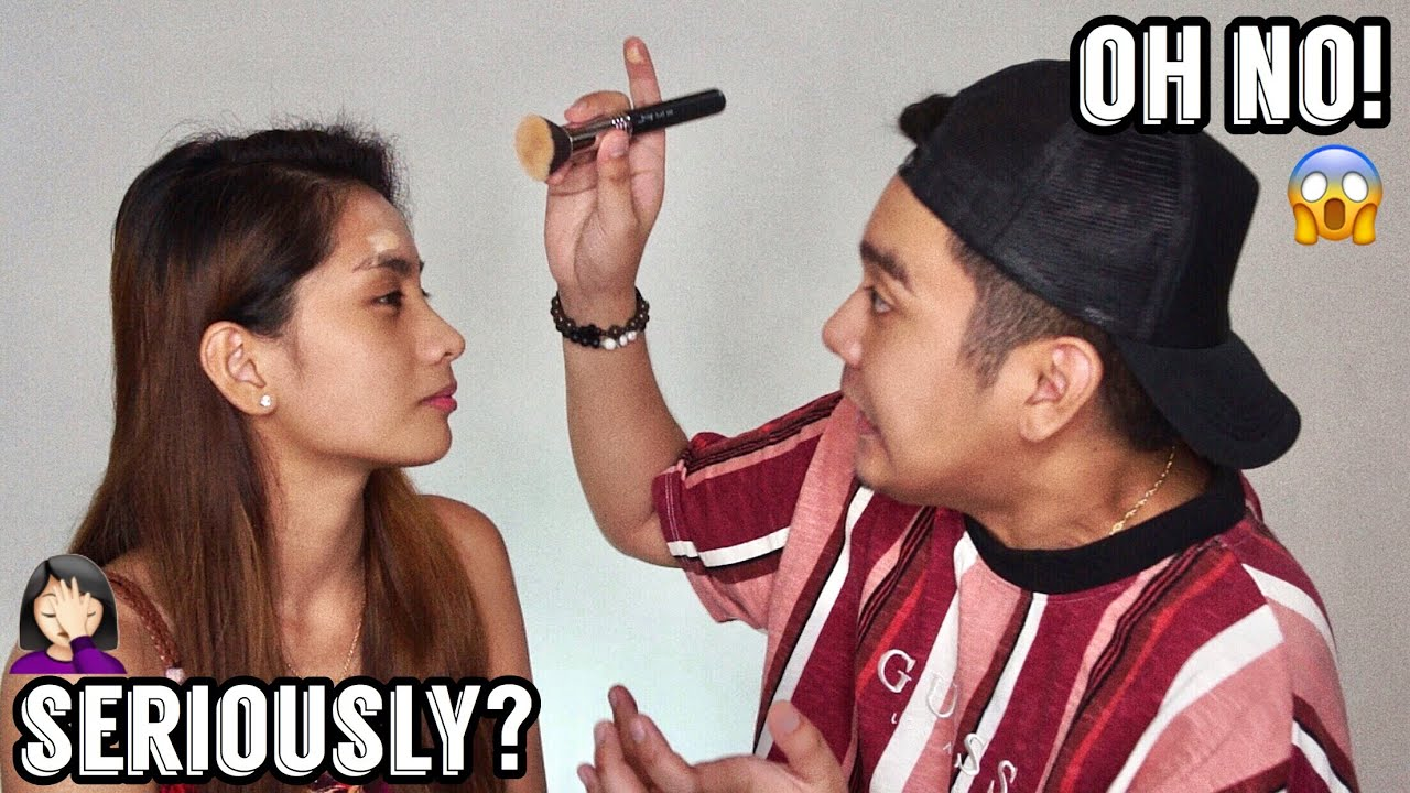 MY BOYFRIEND DOES MY MAKEUP ?? | Philippines 4
