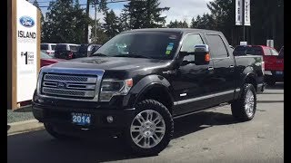 2014 Ford F-150 Platinum W/ Leather, Backup Camera Review| Island Ford