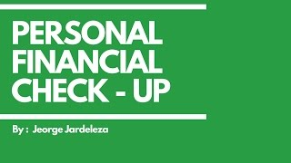 Personal Financial Check Up I Simplified Pinoy Style