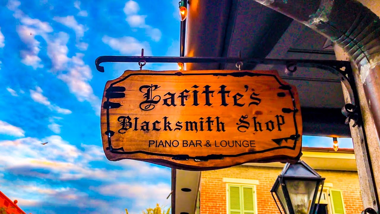 The Oldest Surviving Structure in New Orleans is Lafitte's Blacksmith Shop  Bar