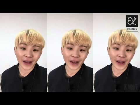151216 Seventeen (세븐틴) Woozi (우지) - I'm Yours