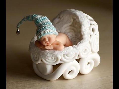 Ребенок из мастики