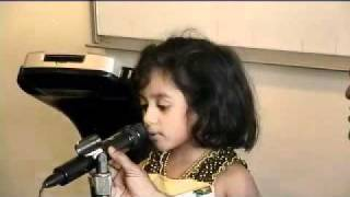 Talent Time 2010  Tessa Malayalam Poetry Recitation
