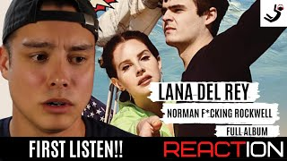 Lana Del Rey - Norman F*cking Rockwell (Full Album) FIRST LISTEN || REACTION & REVIEW!