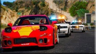 GTA V: FUGA | RX7 - GTA V MODS - IN GAMES BR