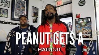 Peanut Gets A Haircut