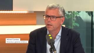 Michel Combes (Altice)   : «Nous sommes devenus un média global ».