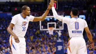 Kevin Durant and Russell Westbrook Relationship?