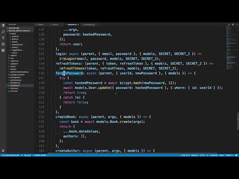 Authentication With Refresh Tokens Implementation - YouTube