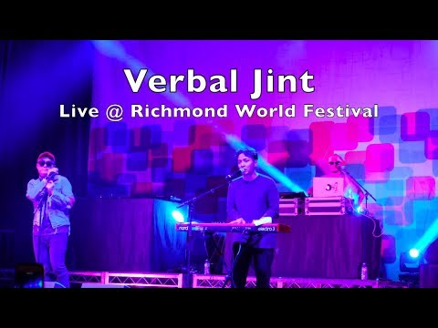 Verbal Jint - Live at Richmond World Festival 2017