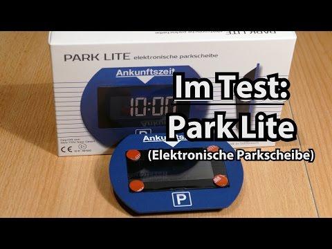 elektronische parkscheibe test