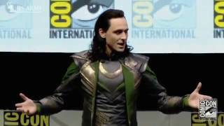 Loki takes over hall h comic con very best version