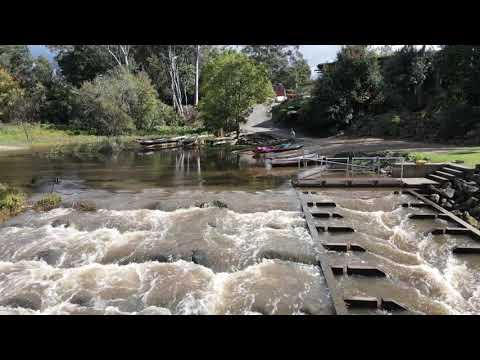 Wyong Weir Fishways