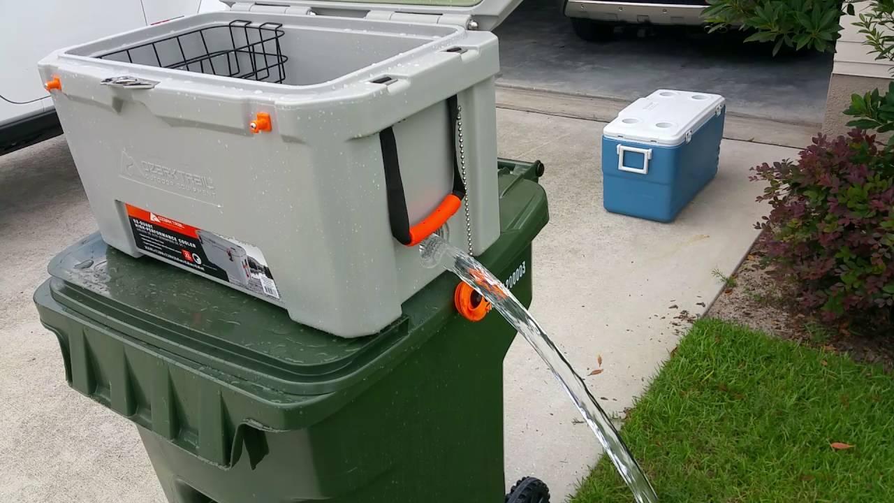 Ozark Trail drain plug test