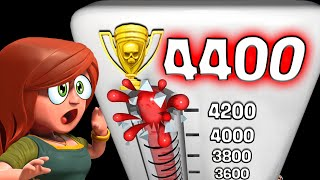 "Clash of Clans ""4400 Club"" Elite Attacks from Top Players!"