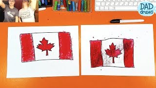 How to draw Flag of Canada