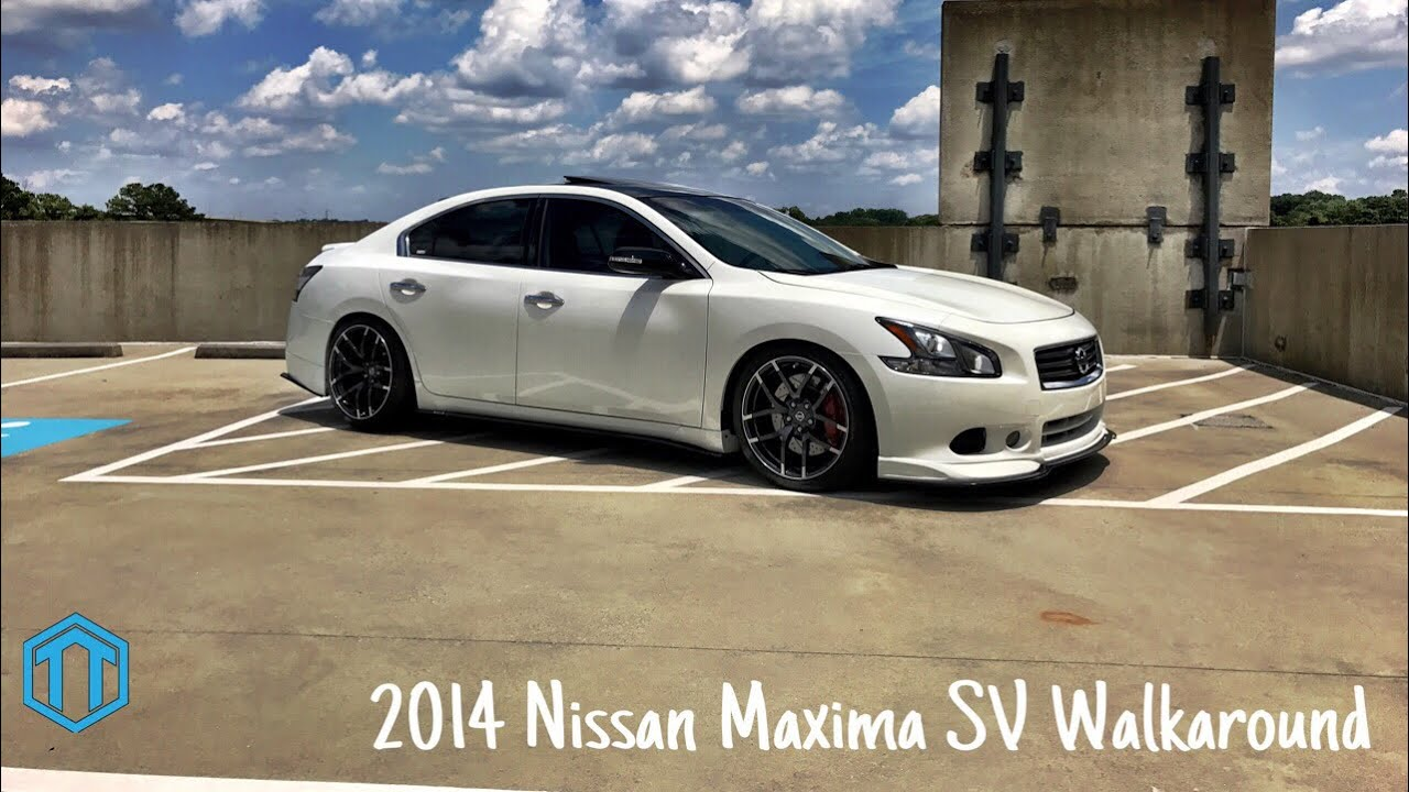 My 2013 Nissan Maxima Sv Walkaround Youtube