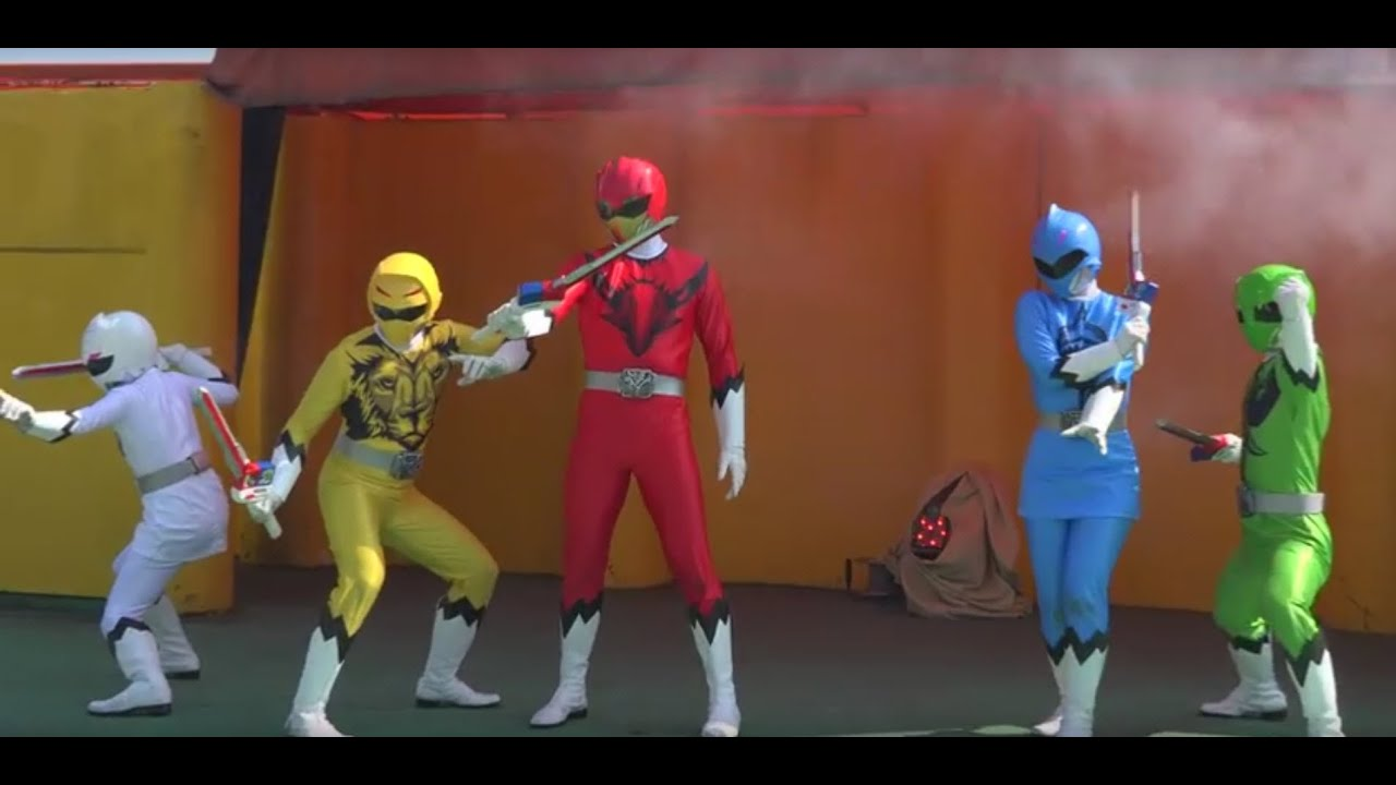 動物戦隊 ジュウオウジャー ショー 第二話 Animal Sentai ZyuohDoubutsu ...