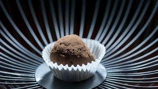 The Making Of Chocolate Raspberry Truffles