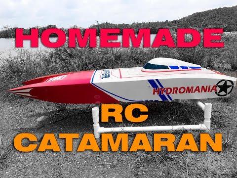 "Homemade 52"" rc catamaran build log"