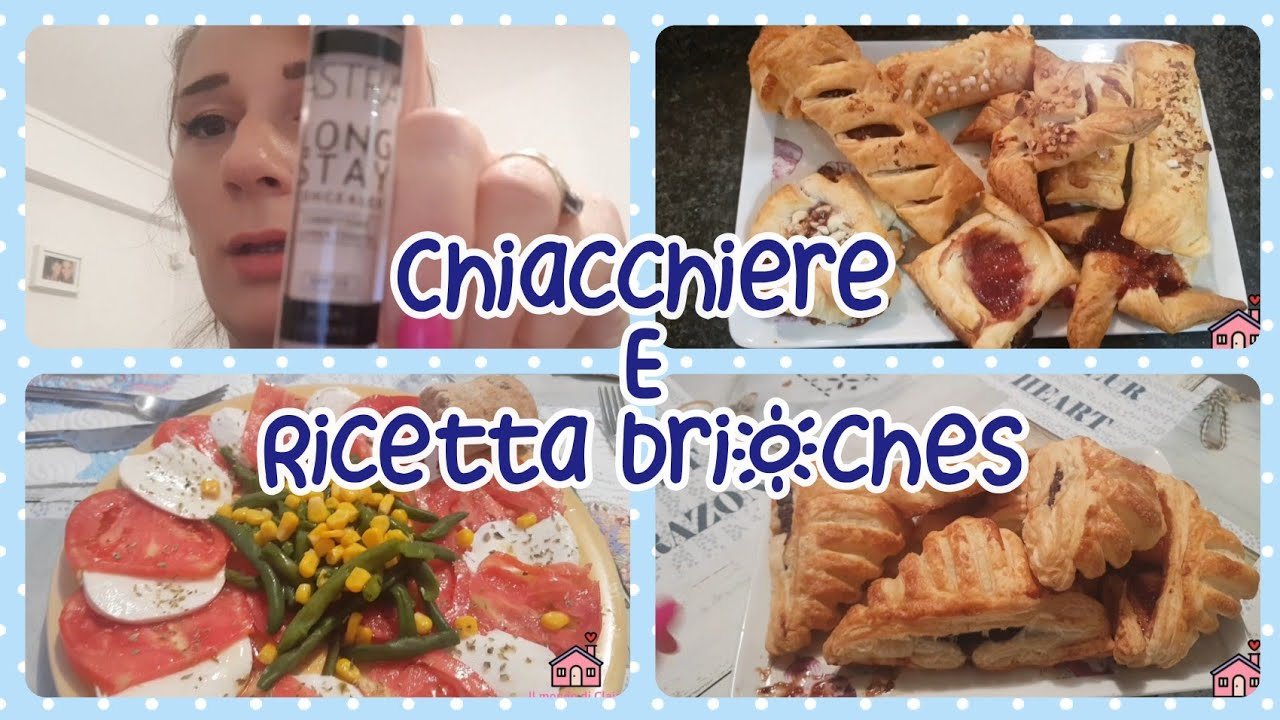 Vlog || CHIACCHIERE  E 🏠 DOLCETTI HOME MADE🥐🥯🥨