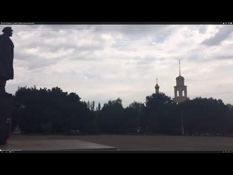 Жители Славянска - о том, был ли распятый мальчик Первого канала на самом деле (w/eng subs)