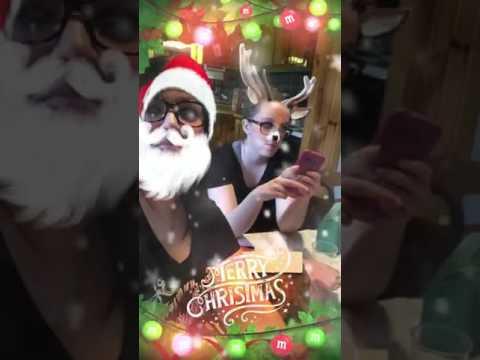 snapchat christmas filter