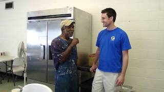Download Spontaneous Singing With John At The Dorothy Day Soup Kitchen MP3 song and Music Video
