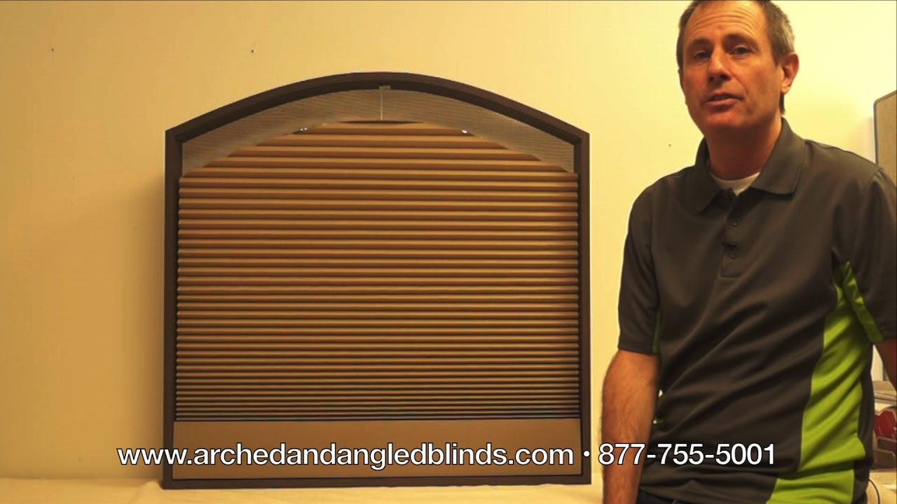 Arch Blind Motorized Explained Remote Control Motorized