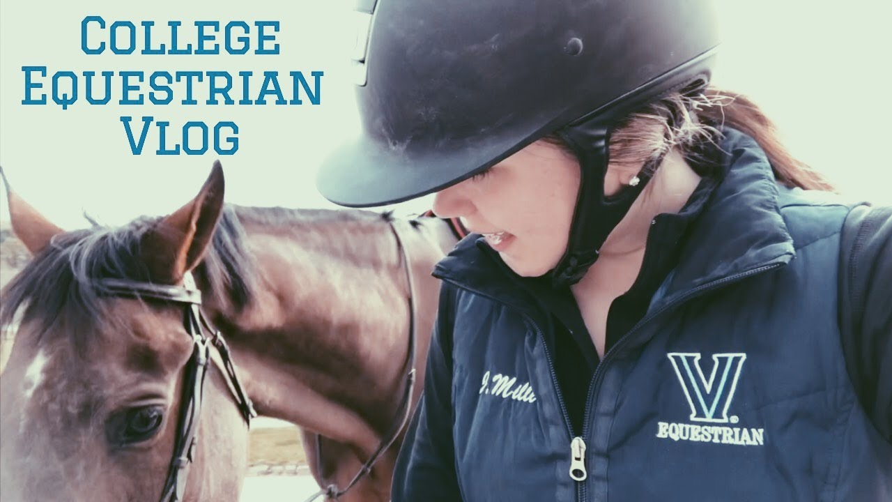 College Equestrian Barn Vlog: Morning Routine + Raws