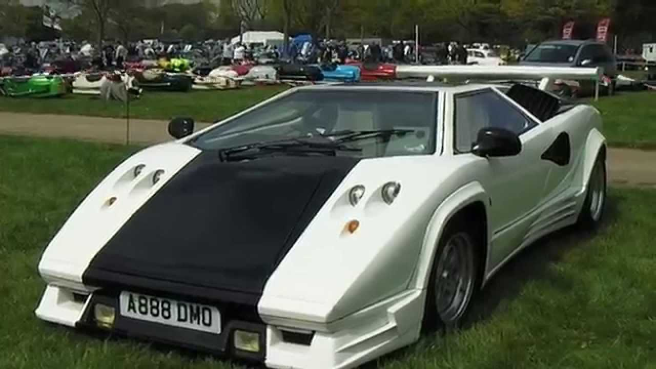 Replica Mirage Lamborghini Countach 5000 Sv Youtube