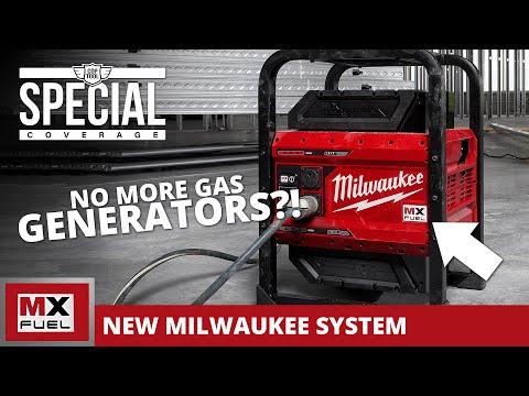 Milwaukee MX Power Station SHOCKS Everyone 1800W/3600W Bye-Bye Inverter Generators! MX FUEL