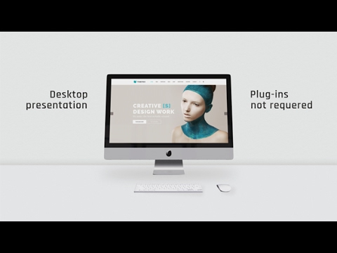 desktop clean presentation | after effects template - youtube, Presentation templates