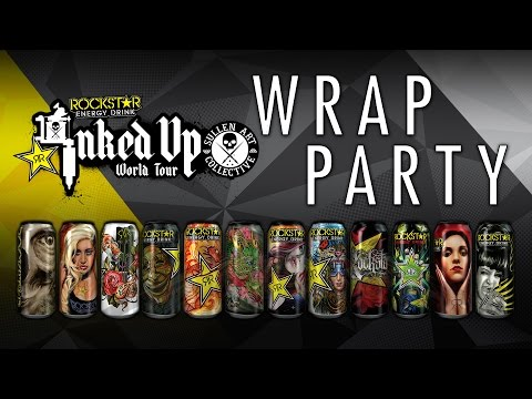 Rockstar Inked up Wrap Party 2014