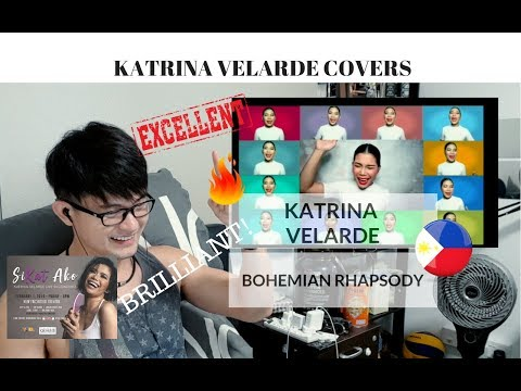 [REACTION] BRILLIANTLY DONE! Katrina Velarde - BOHEMIAN RHAPSODY by QUEENS   #JANGReacts