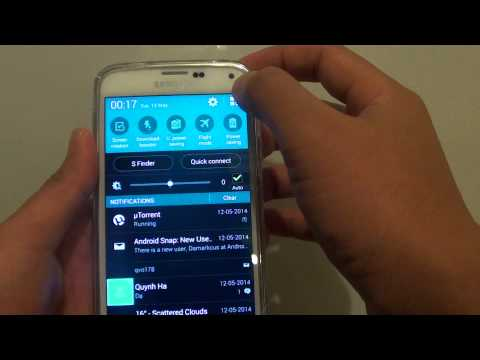 Samsung Galaxy S5: How To Enable/Disable NFC
