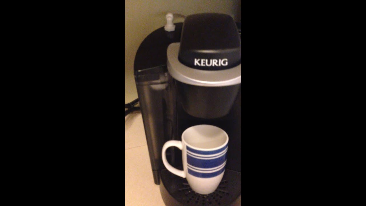 Cuisinart Coffee Maker Auto On Not Working : Keurig coffee maker reservoir auto-fill (connect Keurig to water line) - YouTube